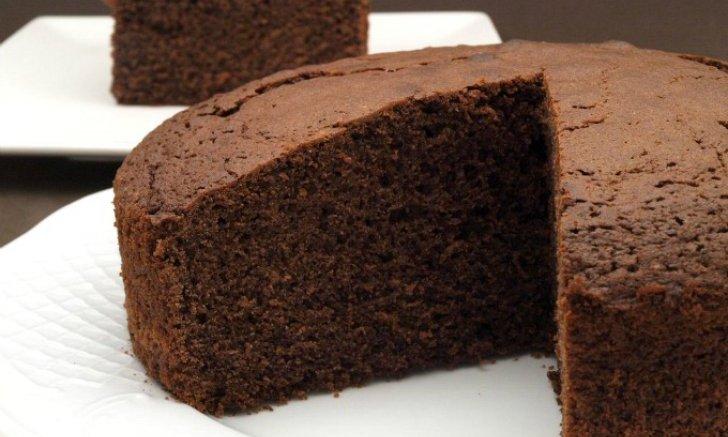 Receta paso a paso Bizcocho de chocolate