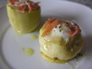 receta-alcachofa-huevo-escaldafo-poche