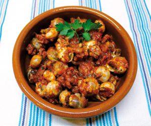 caracoles receta tradicional