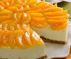 Cheesecake de durazno