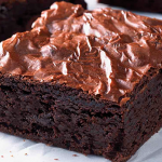 brownie bizcocho chocolate receta reposteria