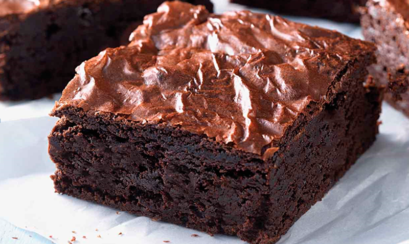 brownie bizcocho chocolate receta reposteria